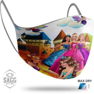 barbie safety kids children mask girls paidiki maska-prostasias maskstore