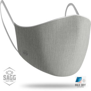 grey mat safety mens mask-andriki maska prostasias maskstore